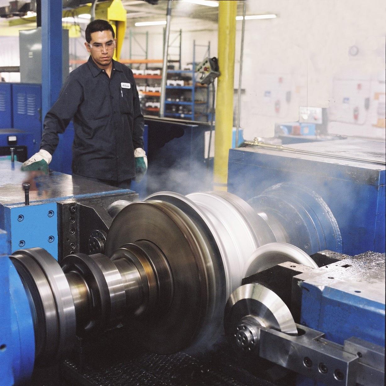 wheel manufacturing method